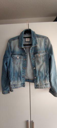 C&A Jeansowa kurtka niebieski