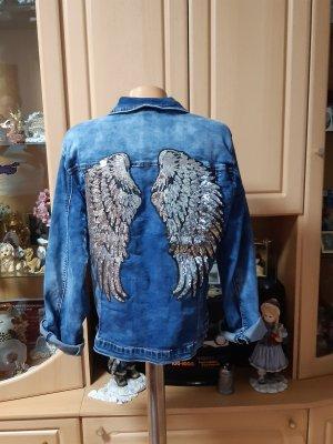 Oversized Jacket cornflower blue