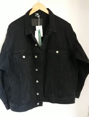 H&M Conscious Collection Kurtka oversize czarny
