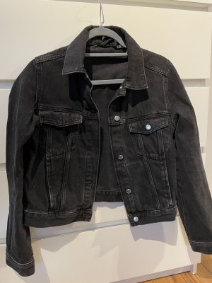 H&M Divided Gilet en jean noir