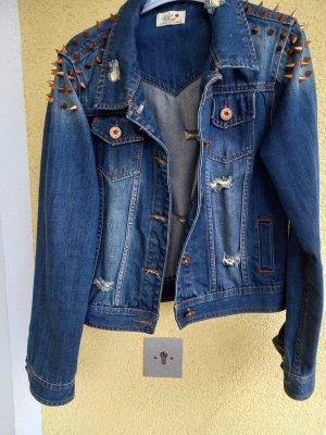 Blue Rags Spijkerjack blauw