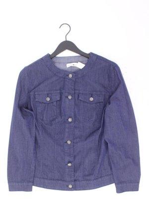 Jeansjacke Größe 48 blau aus Baumwolle