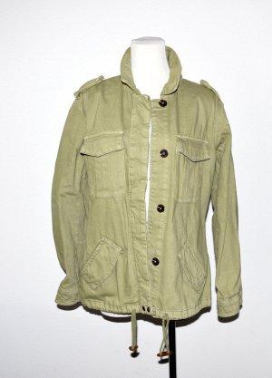Jeansjacke grün von Tom Tailor Gr.M