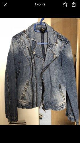BC Collection Veste en jean bleu