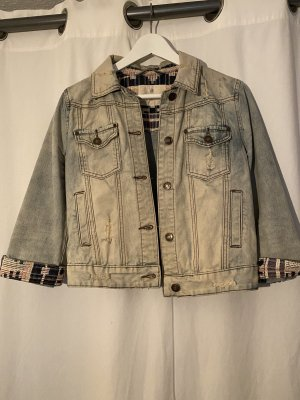 Jeansjacke im boho Style von Review in M