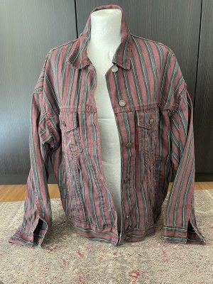 Pull & Bear Denim Jacket multicolored