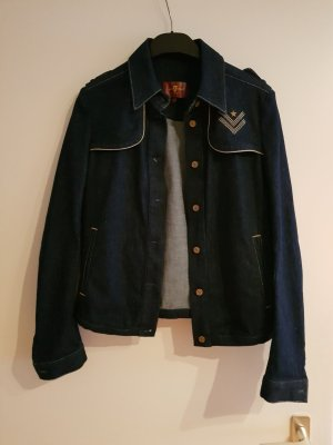 Jeansjacke in dunkelblau von 7 for all mankind