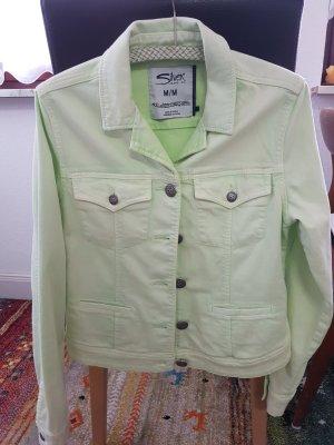 Jeansjacke in hellgrün!! NP ca. 265 Euro -  Von Silver Jeans co.