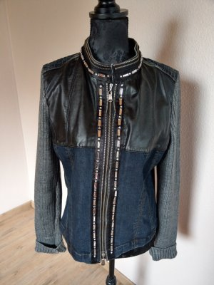 Crisca Denim Jacket steel blue-grey