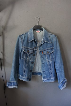 Jeansjacke, Jacke, Denim, Jeans, Levis, älteres Modell