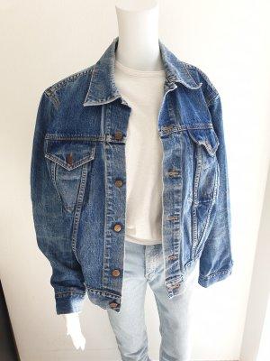 Jeansjacke Jacke Retro Cardigan Pullover Sweatshirt Hoodie Strickjacke oversize sweater True Vintage