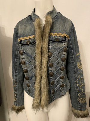 Ashley Brooke Denim Jacket multicolored