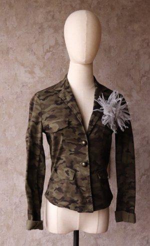 Jeansjacke/Jeansblazer Camouflage von Mötivi