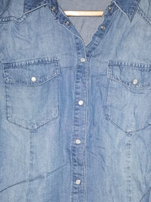 Jeansjacke Jeanshemden blau