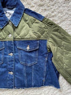 Jeansjacke kombiniert
