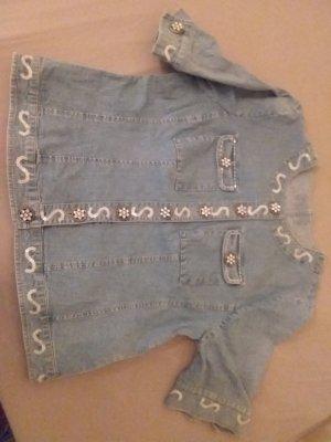 Jeansjacke kurzarm