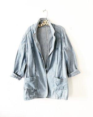jeansjacke • kurzmantel • denim • oversized • vintage • hellblau • boho