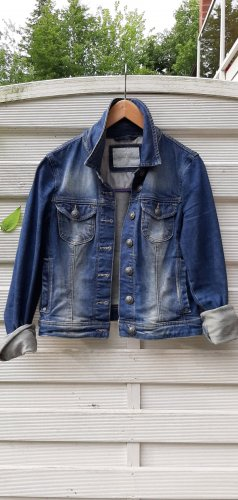 Mexx Veste en jean bleu acier