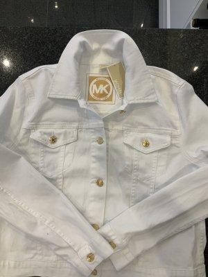 Jeansjacke Michael Kors Neu mit Etikett Gr. XL Weiß