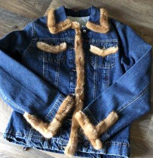 Player Fur Jacket blue pelt