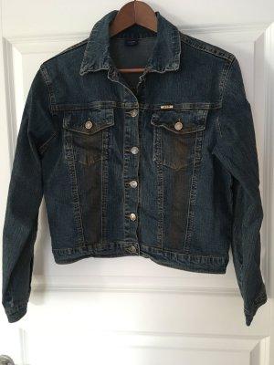 Jeansjacke mit Gold Gr 40 neu