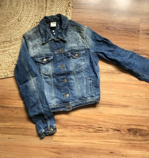 Jeansjacke mit Nieten Usedlook Zara