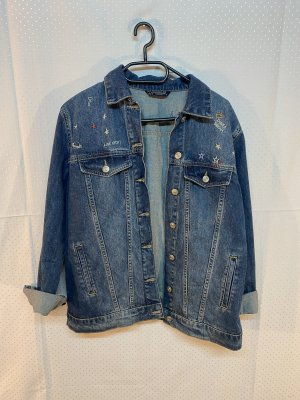 Jeansjacke mit patches LCW Jeans in M