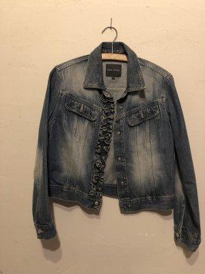Jeansjacke mit Rüsche von Marc O'Polo Größe S