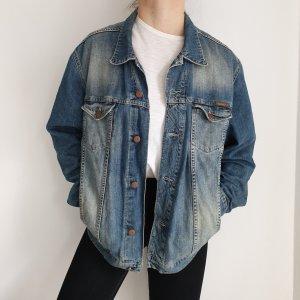 Jeansjacke Mustang Jeans jacke True vintage XL oversize Blau Mantel pulli pullover