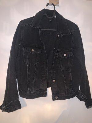 Jeansjacke neu schwarz Denim
