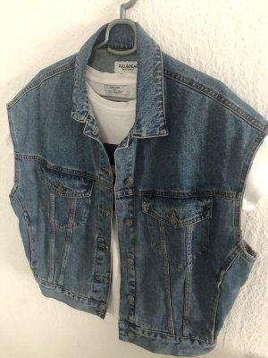 Jeansjacke ohne Ärmel