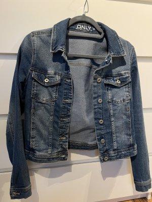 Only Gilet en jean bleu