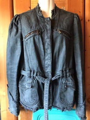 Replay Denim Jacket dark blue
