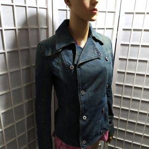 Diesel Veste en jean bleu-bleu foncé