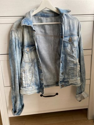 Jeansjacke used look
