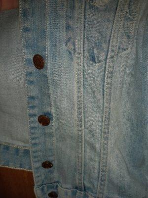 H&M Veste en jean bleu clair