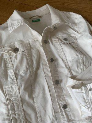 Jeansjacke von Benetton* wie Neu* Gr.L* Wollweiß