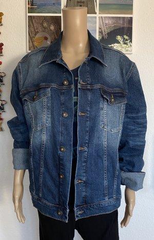 CROSS JEANS Denim Jacket cornflower blue