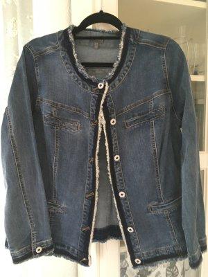 Jeansjacke von Gina Laura Gr. 46