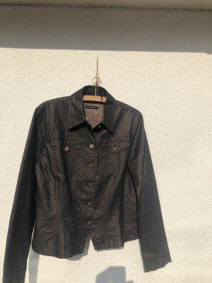 Kapalua Denim Jacket dark brown-bronze-colored