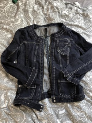 Marc Cain Denim Jacket dark blue