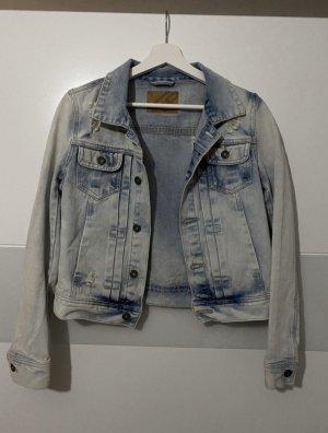 FB Sister Denim Jacket cornflower blue-white