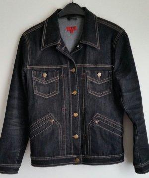 Jeansjacke von PNO in schwarz