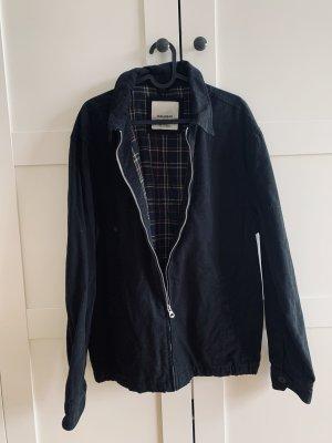 Pull & Bear Veste en jean noir