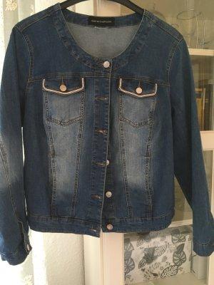 Sara Lindholm Denim Jacket azure cotton
