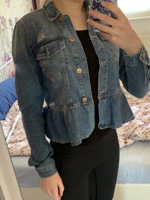 Jeansjacke von Vero Moda mit schößchen