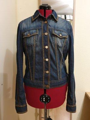 Versace Jeans Couture Cazadora vaquera multicolor