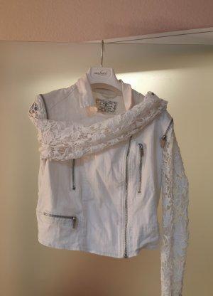 Amisu Veste courte blanc-blanc cassé
