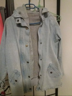 Denim Jacket grey-light blue