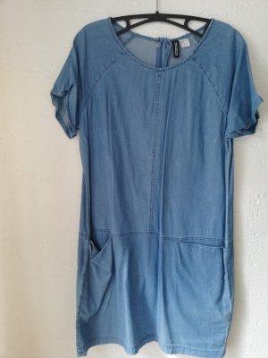 H&M Abito denim blu